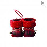 Новогодний декор Подвеска новогодние сапожки