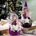 Новогодний декор Набор из 2 ангелочков звезда и сердечко
