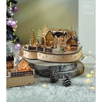 Новогодний декор Новогодняя деревня