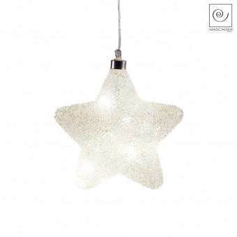 Новогодний декор Led-подвеска звезда, 18 см
