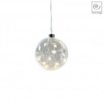 Новогодний декор Елочный Led-шарик, d10 см