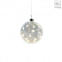 Новогодний декор Елочный Led-шарик, d12 см