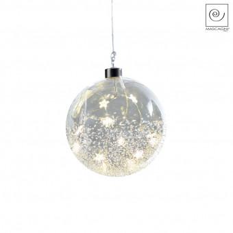 Новогодний декор Елочный Led-шарик, d15 см