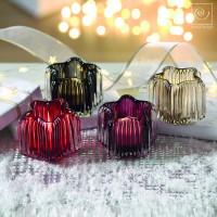Новогодний декор Набор из 4 подсвечников в форме звезды