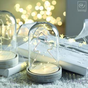 Новогодний декор Led-купол с елкой