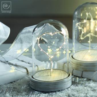 Новогодний декор Led-купол с сердцем