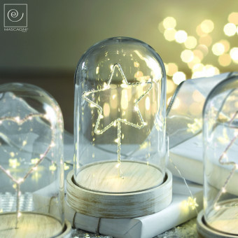 Новогодний декор Led-купол со звездой