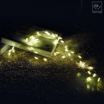 Новогодний декор Гирлянда со звездами