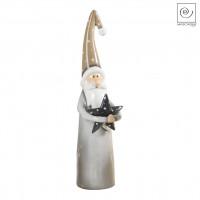 Новогодний декор Санта Клаус со звездочкой, 42,1 см