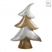Новогодний декор Керамическая Ель, 35,5 см