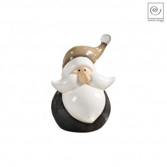 Новогодний декор Санта Клаус с большими усами, 15,9 см