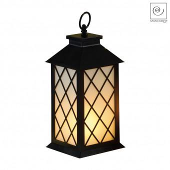 Новогодний декор Декоративный фонарь с ромбами