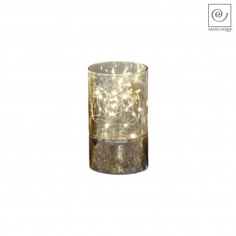 Новогодний декор Декоративный Led-стакан, 15 см