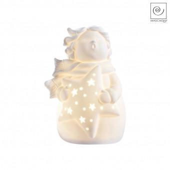 Новогодний декор Поющий Led-ангелочек, 18 см