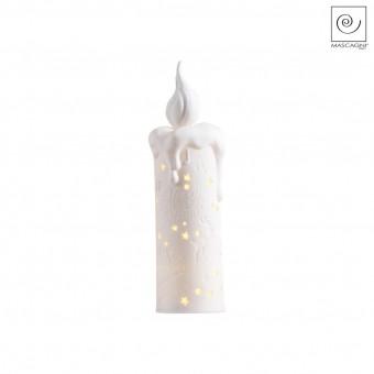 Новогодний декор Led-свеча Merry Christmas, 20,5 см