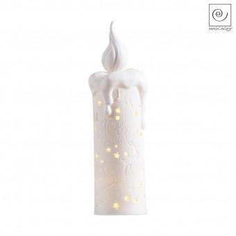 Новогодний декор Led-свеча Merry Christmas, 24,3 см