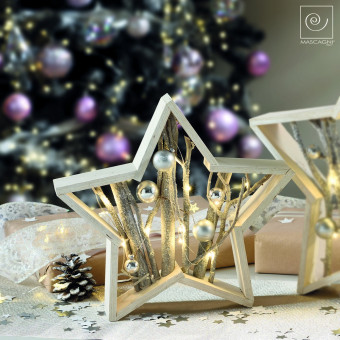Новогодний декор Декоративная звезда, 31 см