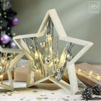 Новогодний декор Декоративная звезда, 39 см