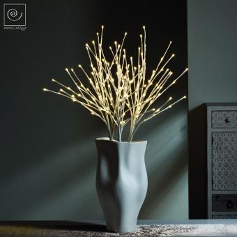 Новогодний декор Набор из 3 Led-ветвей, белые