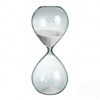Песочные часы на час SIXTY, белые
