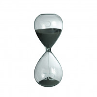 Песочные часы на 30 минут, серый
