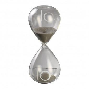 Песочные часы на 10 минут, серый