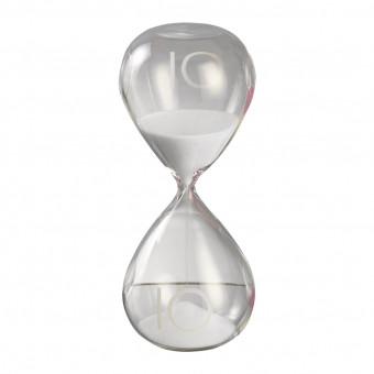Песочные часы на 10 минут, белый