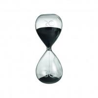 Песочные часы 30 минут, черный
