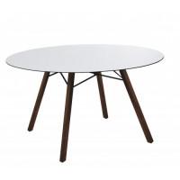 Стол обеденный круглый Wox Iroko Ø100