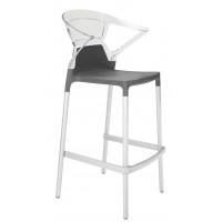 Кресло барное Ego-K Bar, антрацит