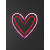 Настенная LED-лампа Сердце