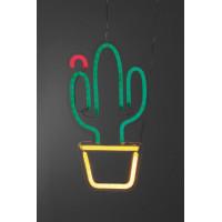 Настенная LED-лампа Кактус в горшке