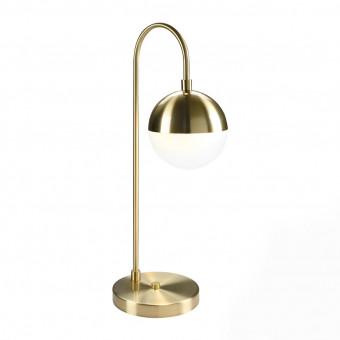 Настольная лампа цвета золото