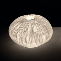 Лампа настольная Luce из песчаника, h23 см