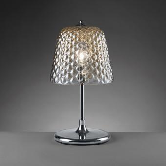 Настольная лампа с зеркальным плафоном, шампань