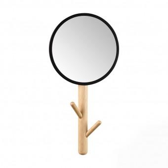 Зеркало с крючками для одежды