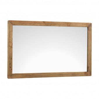 Зеркало из переработанного дерева